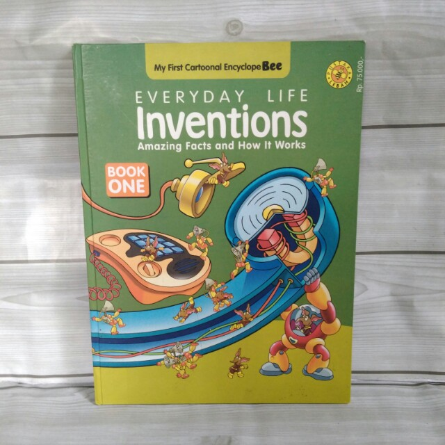 Everyday Life Inventions - Book One - My First Cartoonal Encyclopebee - Pustaka Lebah