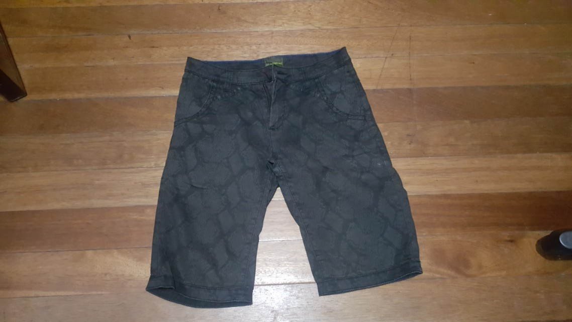 Folded and Hung shorts