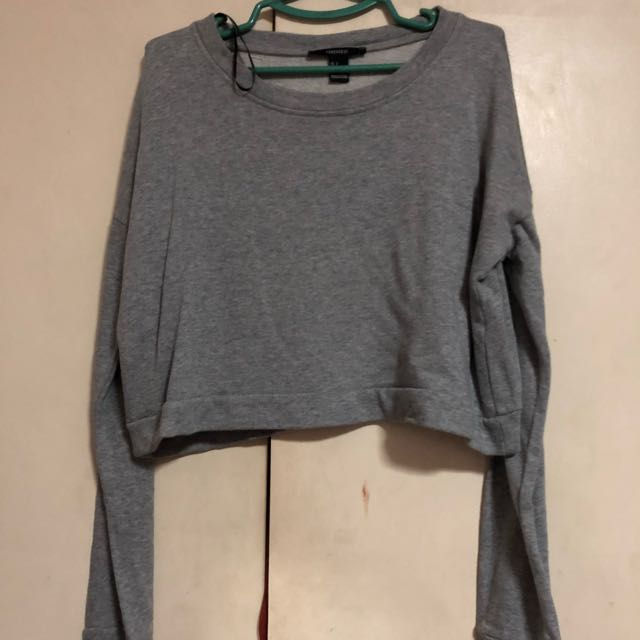 Forever 21 croptop sweater