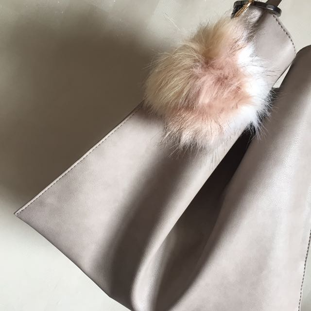 Fur Bag Charm - Bulu Bulu