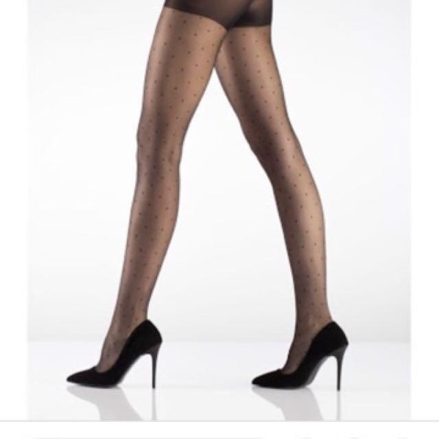 Genuine Yves Saint Laurent Nouvelle Motifs Stockings