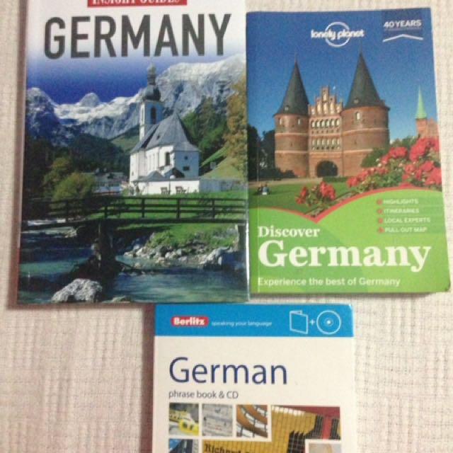Germany travel books!