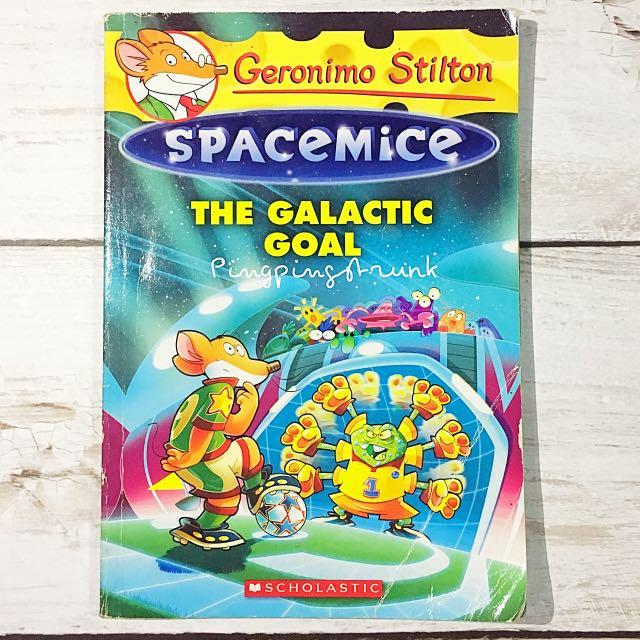 Geronimo Stilton The Galactic Goal