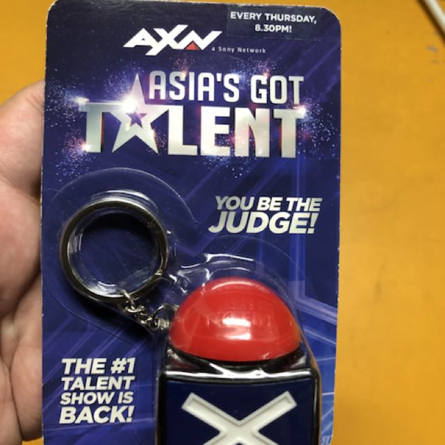 Got Talent Official Merchandise Buzzer Keychain