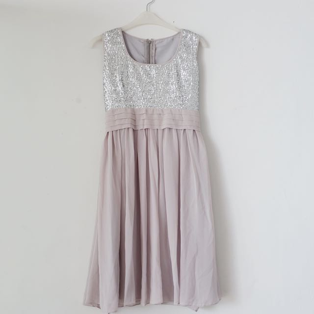 Grey Blink Dress