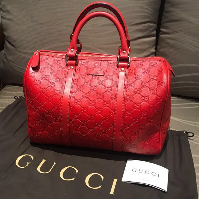 6b7c8ec7379c Gucci Guccissima Bag, Luxury, Bags & Wallets on Carousell