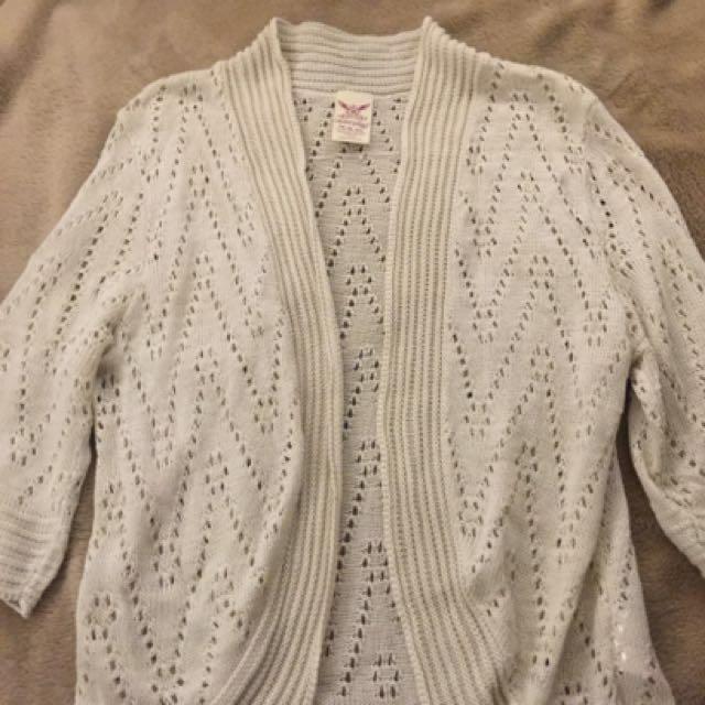 Half Sleeves Yarned Kimono