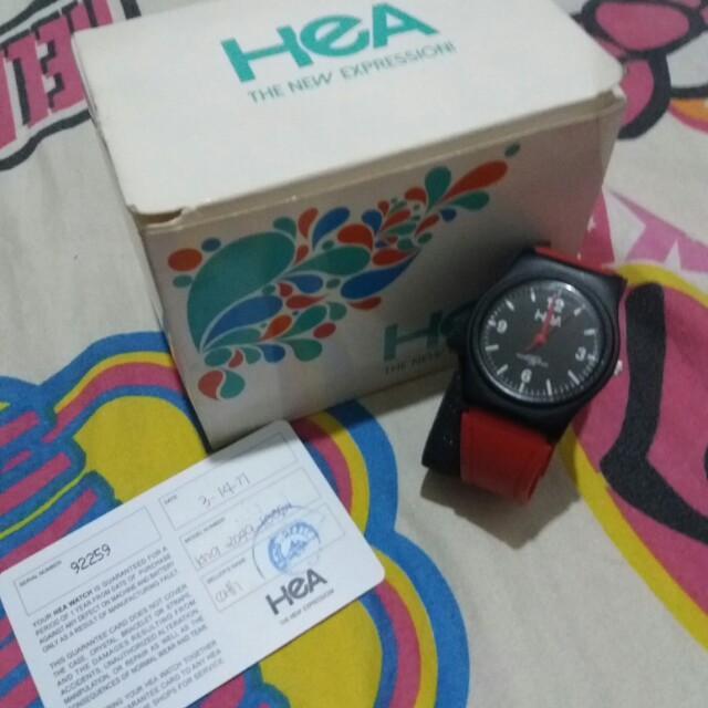 hea watch by unisilvertime