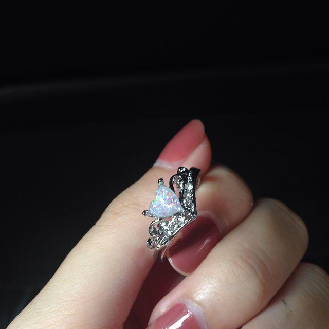 Heart Opal Ring