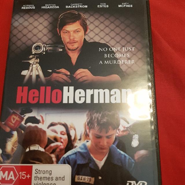Hello Herman DVD. Rare!