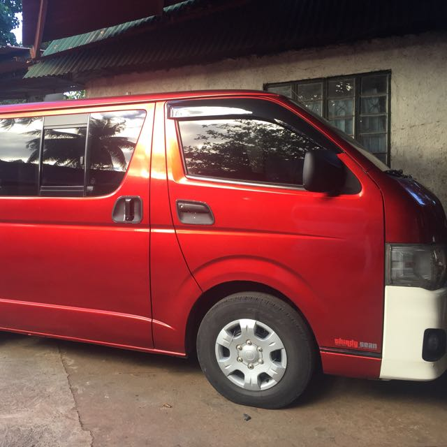 Hi Ace Van For Sale!!!! Model:2012/Commuter  Pls pm me for more info! Thank you!✅