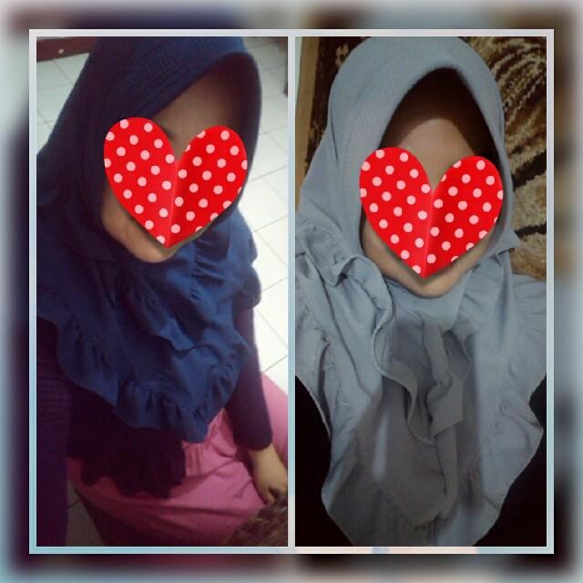 Hijab instan dua rempel