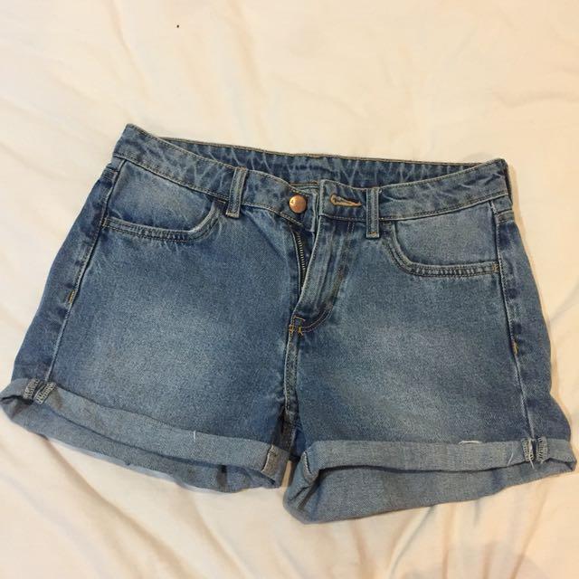 H&M denim short/celana pendek jeans