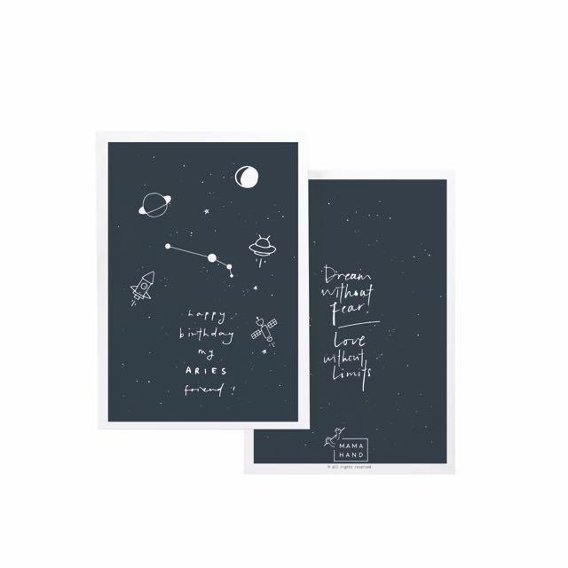 Horoscope Birthday Cards Capricorn-Aries