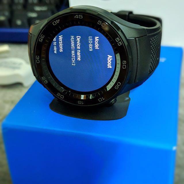 Huawei Watch 2 華為智能手錶 炭晶黑