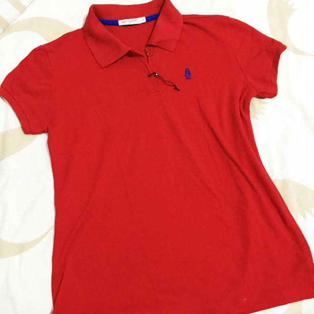 Hush Puppies Polo Women Red
