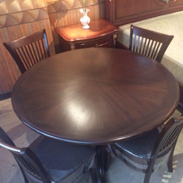 Indonesian 4 seater dining set