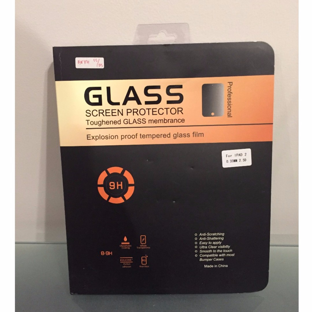 iPad 2 Glass Screen Protector for sale $4 (New)