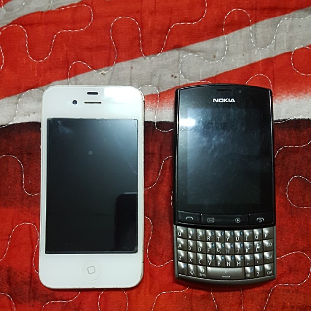 Iphone 4s & Nokia 303 Backup Phone Unit Only