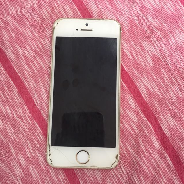 iPhone 5s Gold Globe locked 16GB