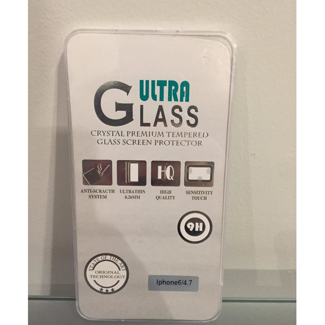 iPhone 6 Glass Screen Protector for sale $2 (New)