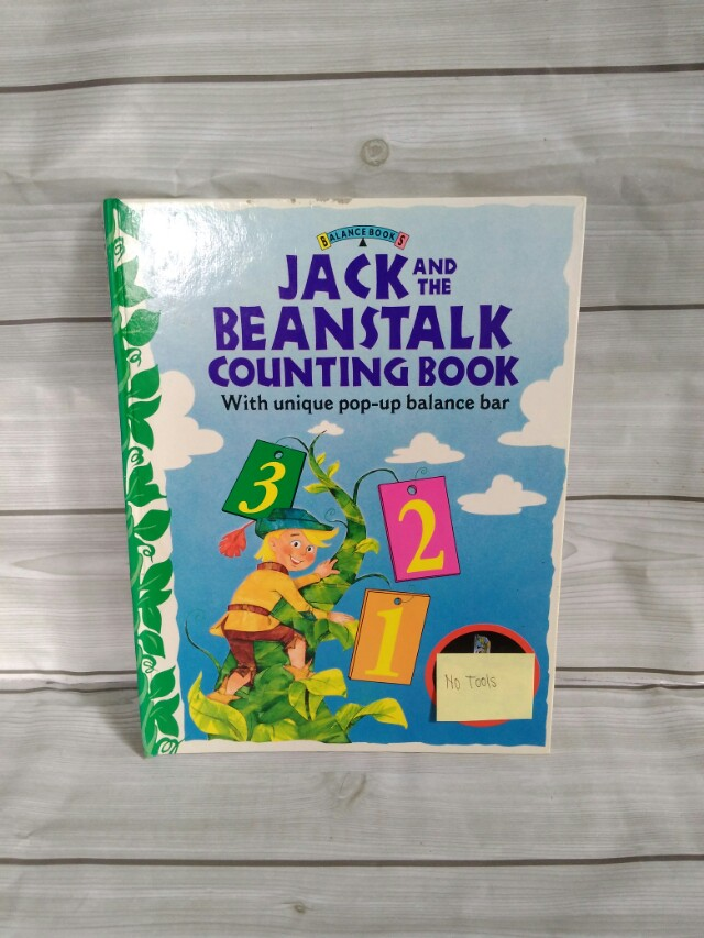 Jack and The Beanstalk Counting Book [Tanpa Tools]