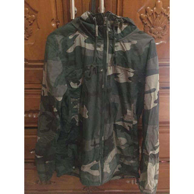 Jacket Army Pull & Bear