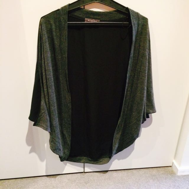 Jacket black and ash size small