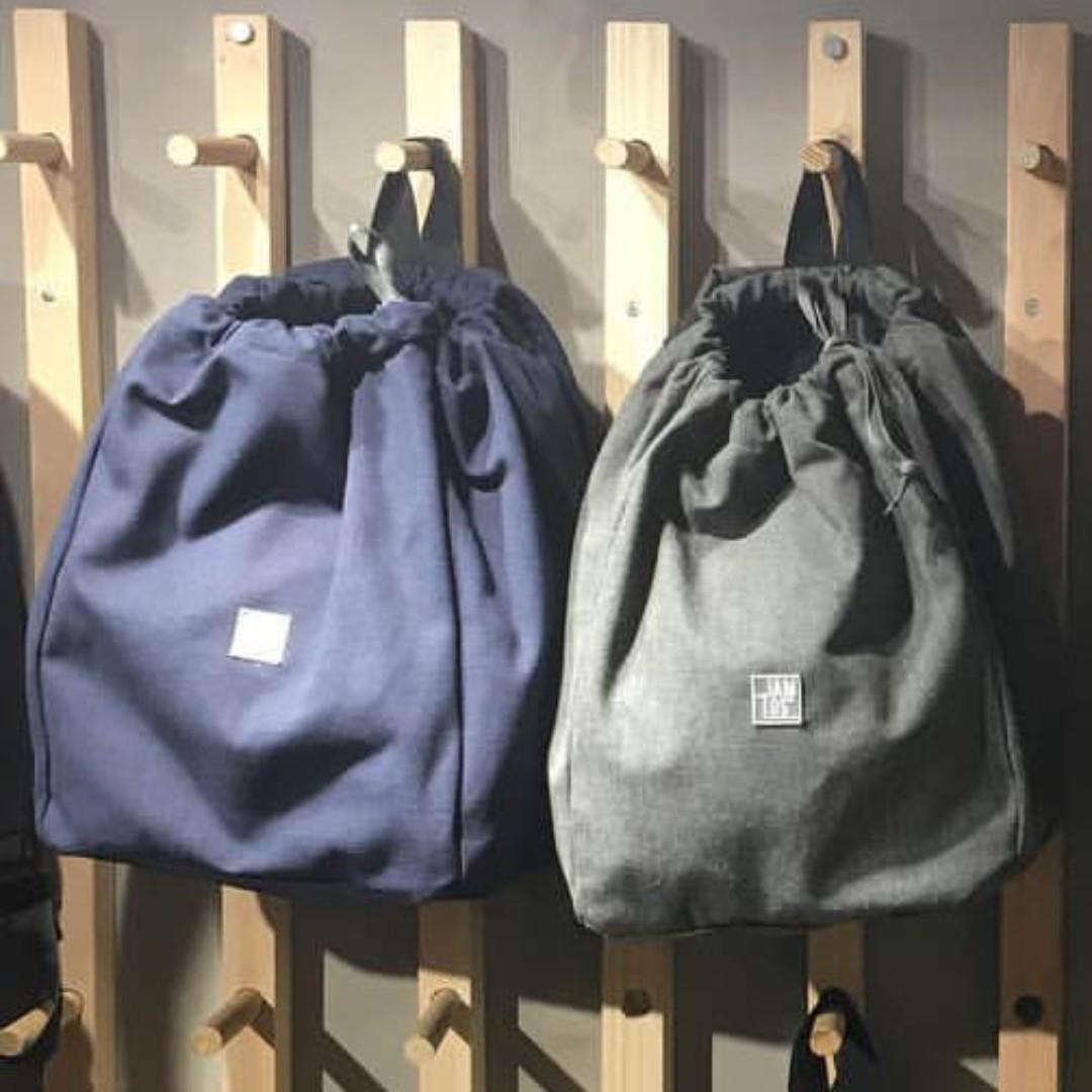 JamLos Urban Retro Canvas Backpack (Grey)