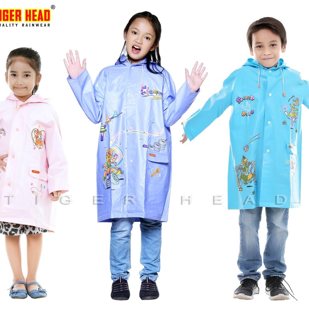 Jas Hujan Children Raincoat Tiger Head 68201 Motor Di Carousell Mds 4