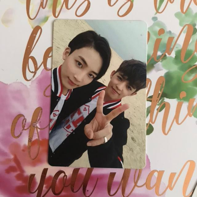 JEONGCHEOL Going Seventeen Official Photocard