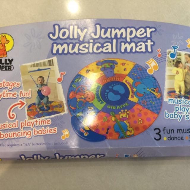 Jolly Jumper Musical Mat