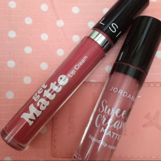 Jordana & silky girl lipcream mate