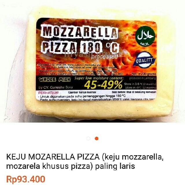 Keju Mozarella