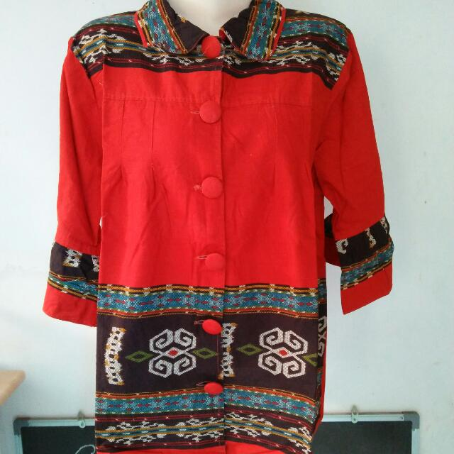 Kemeja Batik Santai