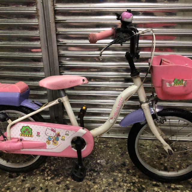 Kitty 二手兒童車 二手兒童腳踏車 二手腳踏車