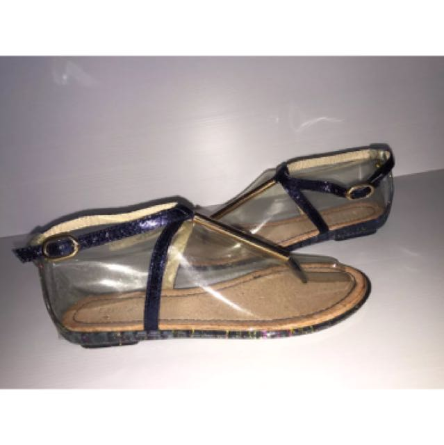 Lavish sandals blue size 7