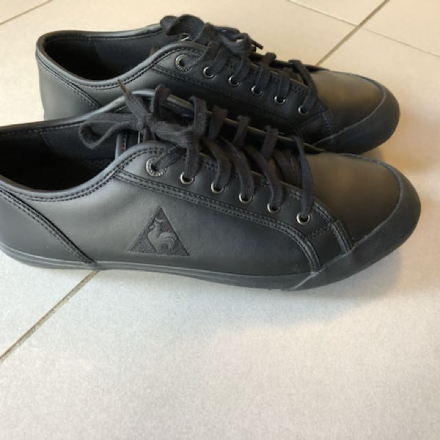 nog een kans sneakers voor goedkoop verschillende stijlen Le COQ Sportif Black Leather Shoes, Men's Fashion, Footwear ...