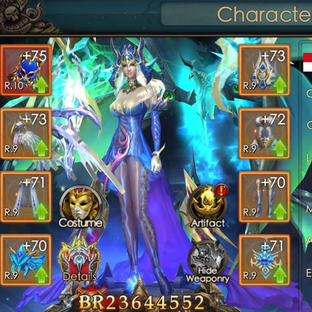 LEGACY OF DISCORD VIP9 Account, Toys & Games, Video Gaming