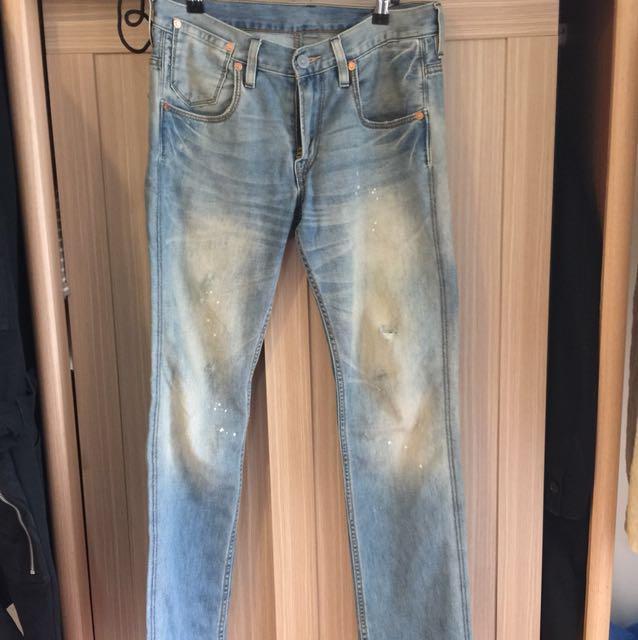 LEVI'S 95911-0039 cool jeans 水洗 小破壞 511