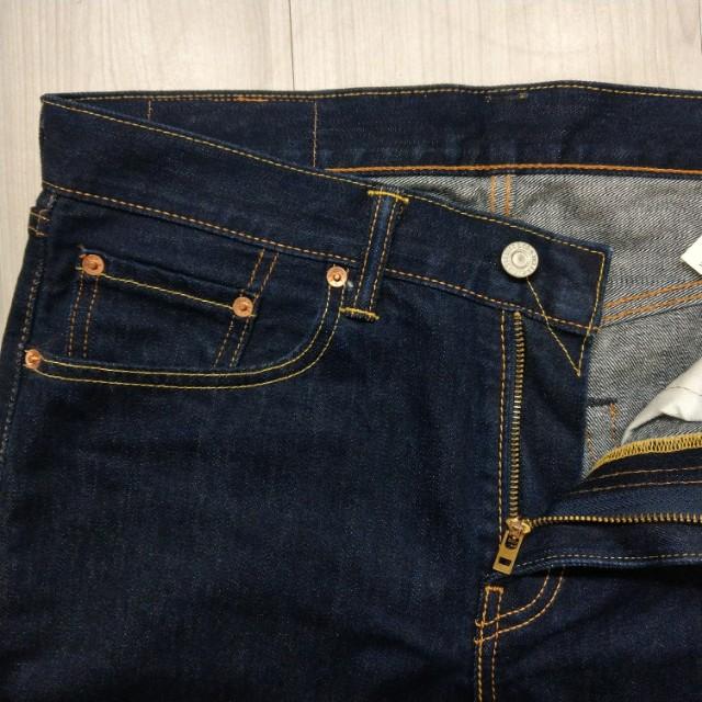 Levi's levis 00502-0254 W32 L34 原色深色直筒牛仔褲 502 512 522