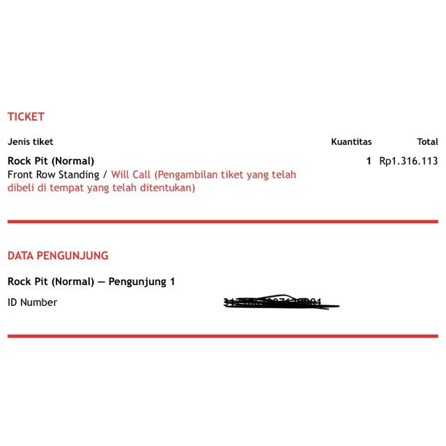 Liam Gallagher Ticket [ROCKPIT] - 14 Januari 2018
