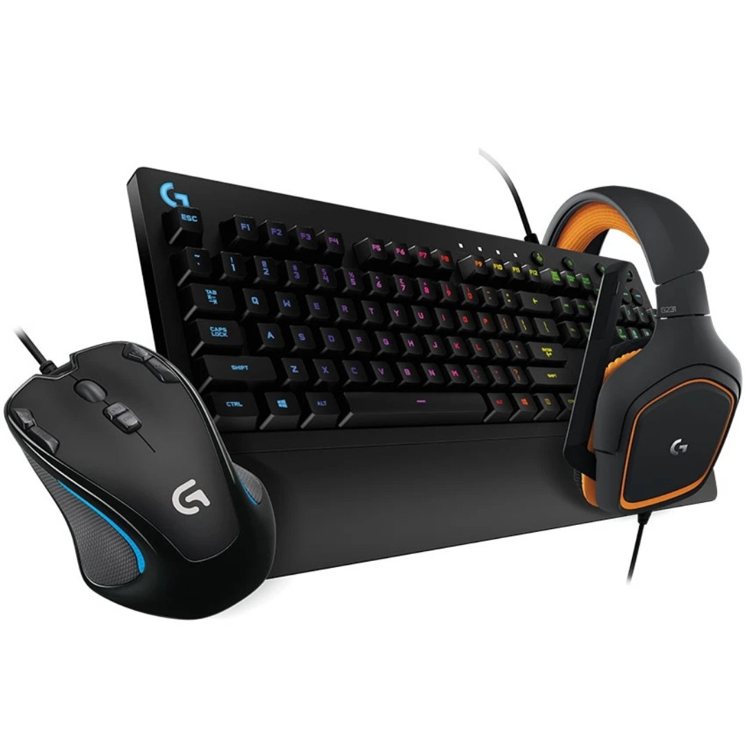 7733c06f1fb Logitech Gaming Bundle Combo Logitech G300s Gaming Mouse Logitech