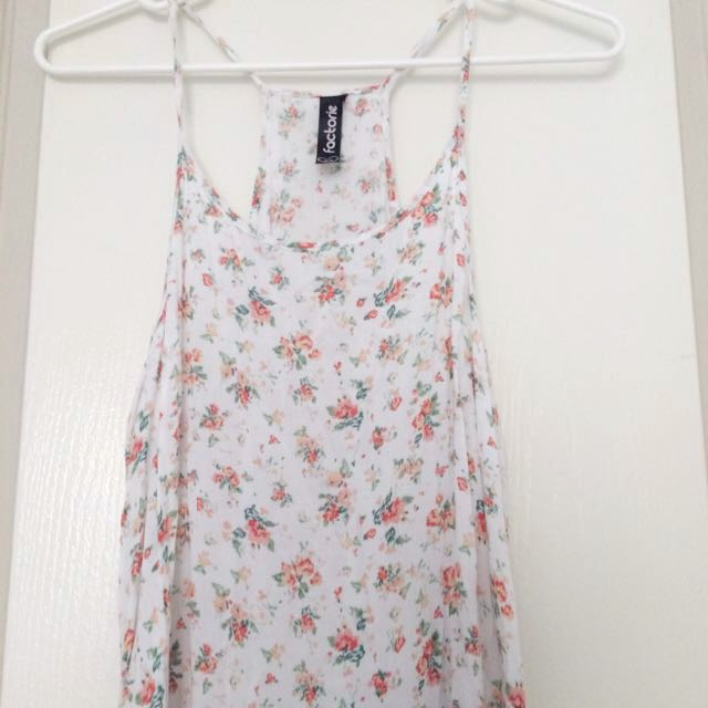 Loose Summer Dress XS