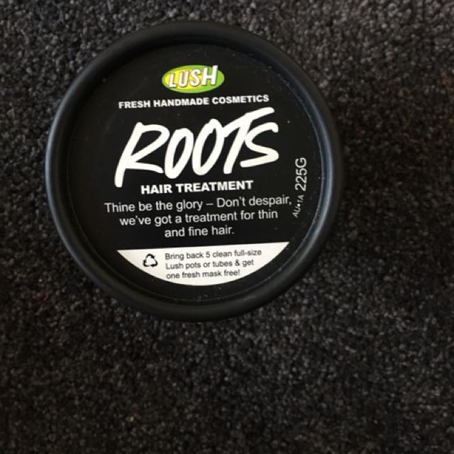 LUSH HAIR TREATMENT