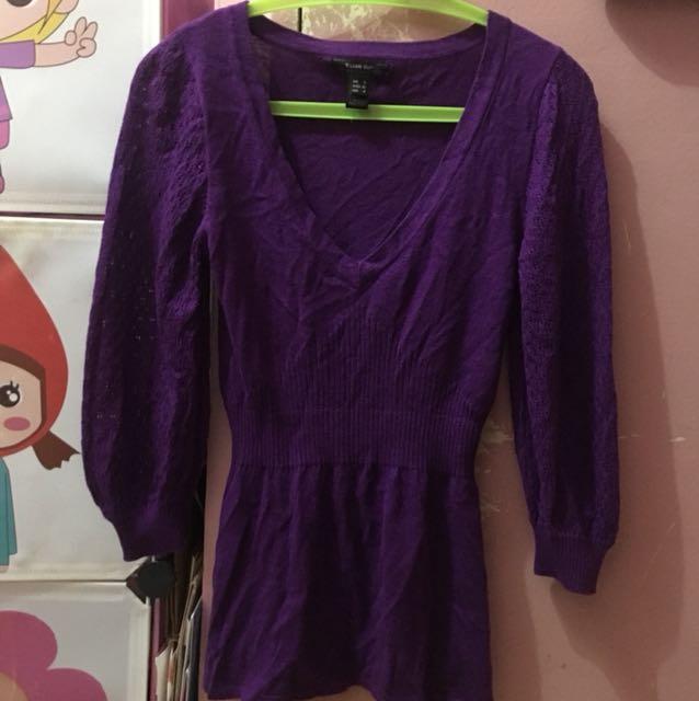 Mango Knitted Blouse