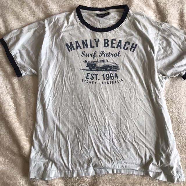 """Manly Beach"" Tee"