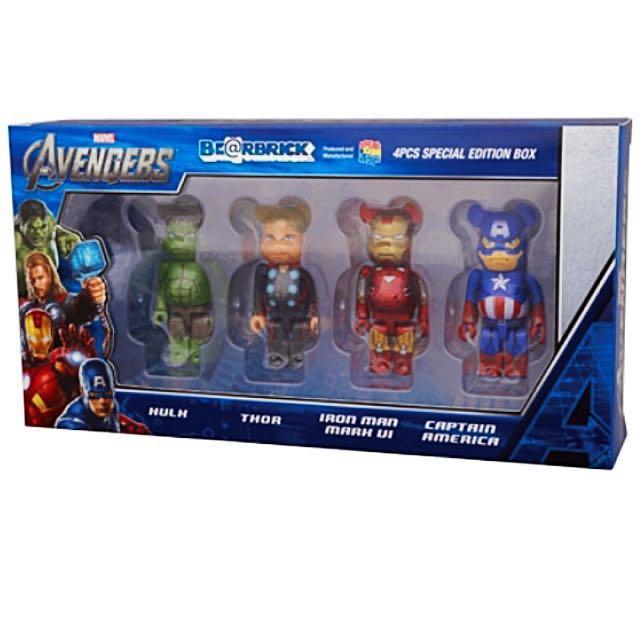 33e79ca043f Marvel Avengers Assemble Set Hulk Thor Iron man Captain America ...