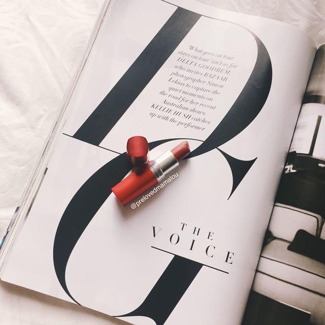 Maybeline Red Lipstick #maucolourpop