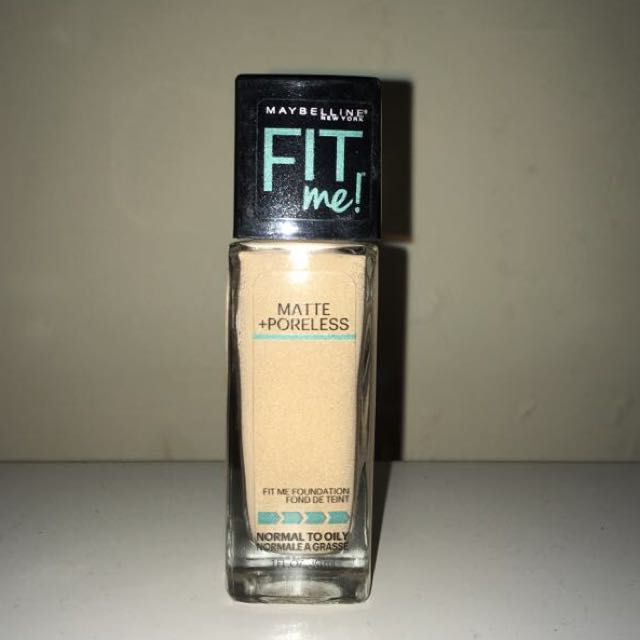 Maybelline Foundation Fit Me Matte